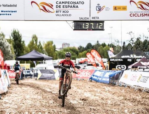 Rocío Alba García en su última competencia.