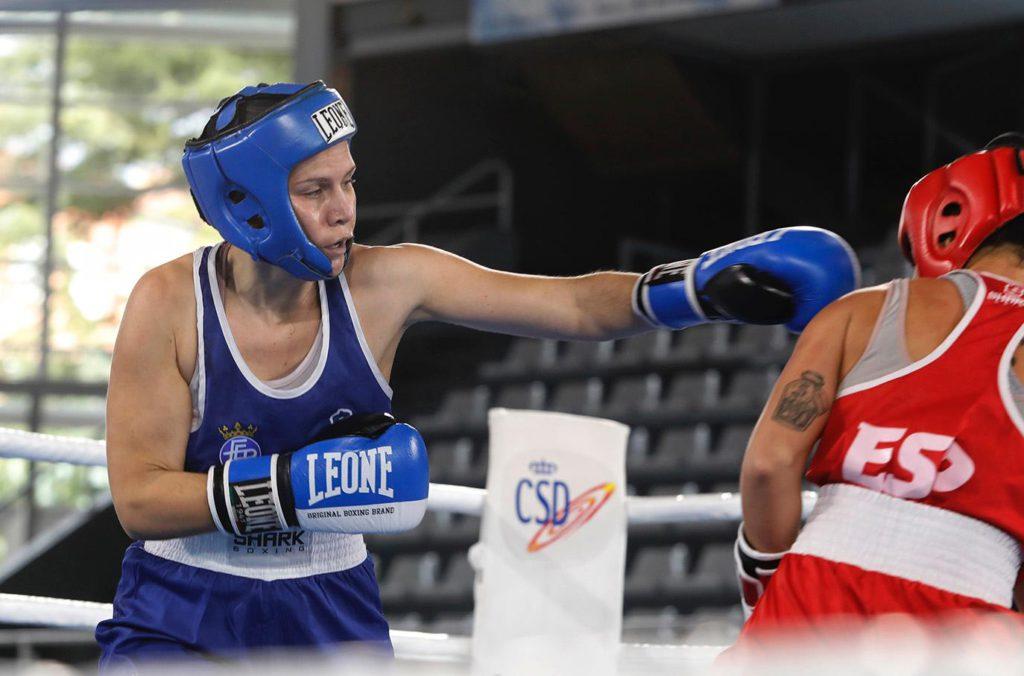 Patricia Venegas en combate