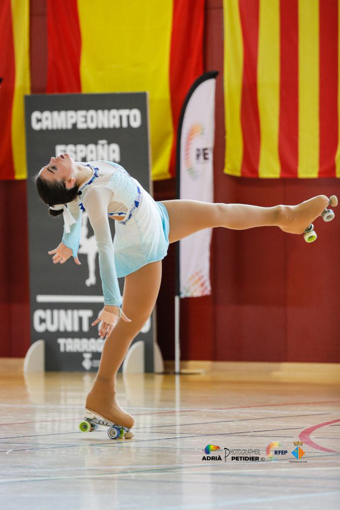 Andrea Llovo durante el Campeonato de España (Foto de Adrià Pérez Petidier - RFEP)