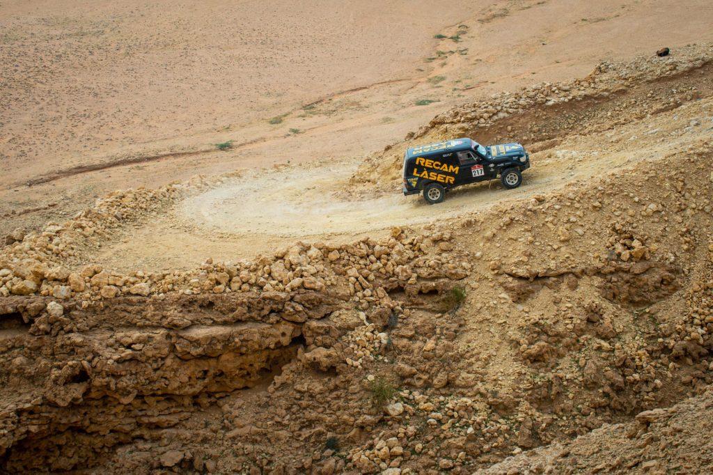 Tarruel en el Toyota en Dakar 22021