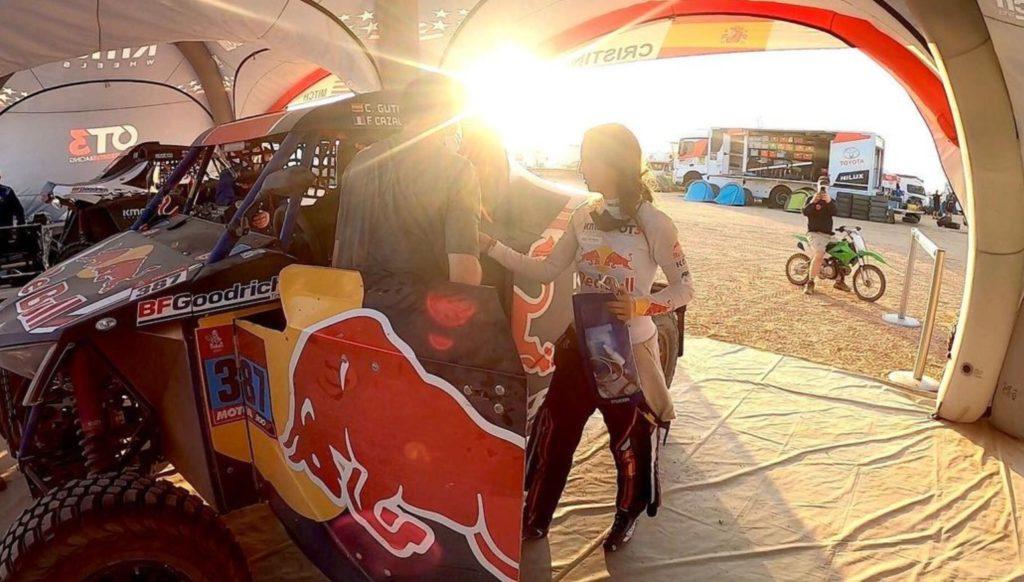 Mujeres en el Dakar 2021: Cristina Gutiérrez