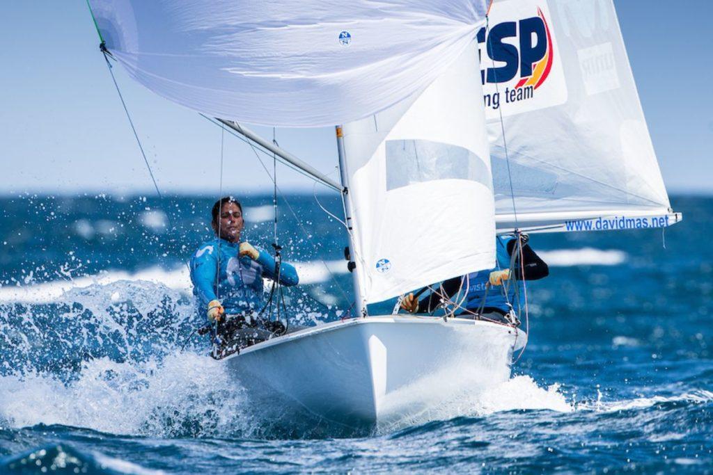 El equipo olímpico español