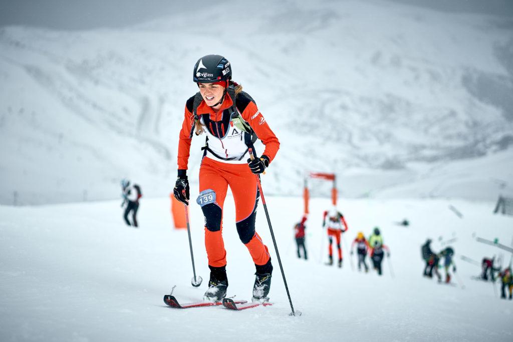 Marta García Campeonato España Esquí montaña cronoescalada
