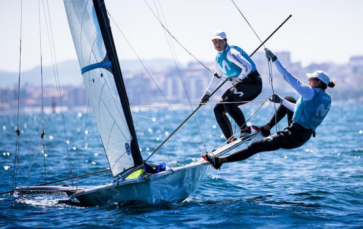 El equipo olímpico español de 470 se impone en la Lanzarote Winter Series