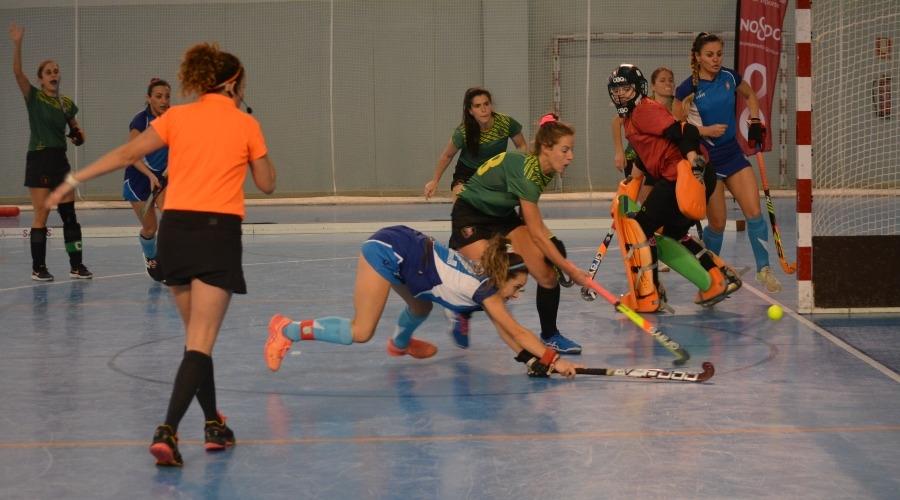 Hockey Sala Nacional Femenino: CD Sadus durante Campeonato NAcional 2021