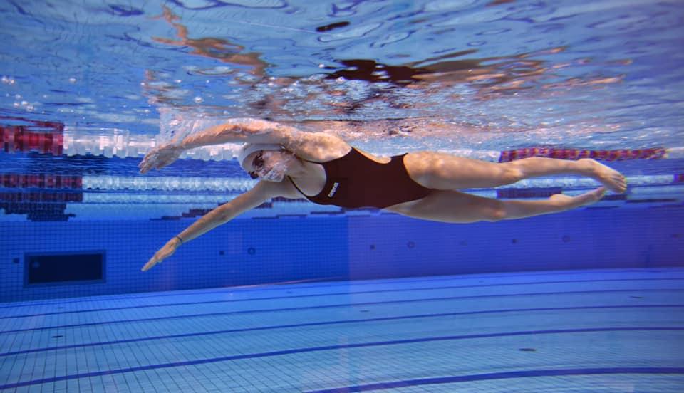 Maria Delgado 6º Campeonato Internacional de Natación Adaptada Barcelona