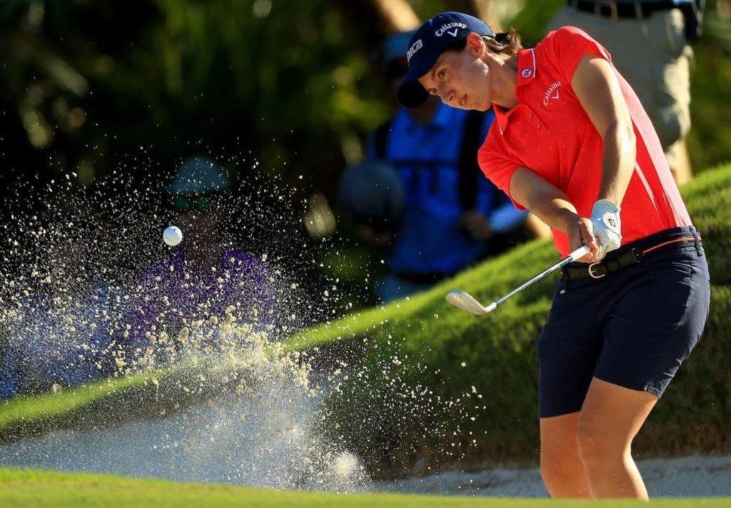 Carlota Ciganda en el mejor golf femenino continental