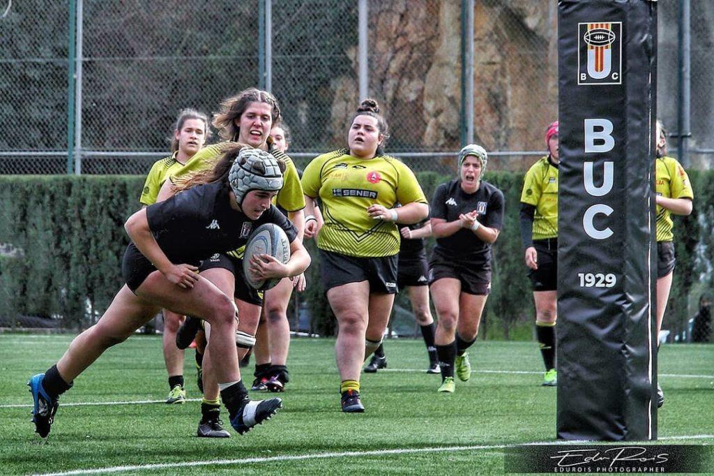 Play-offs de infarto en el rugby femenino para subir a la Liga Iberdrola. Fotografía- Edu Rois. jpg