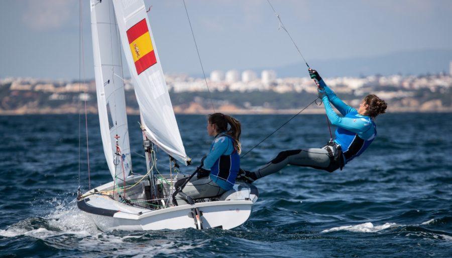 Silvia Más y Patricia Cantero en el Mundial de 470