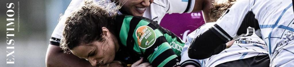 Deporte femenino Banner de Rugby