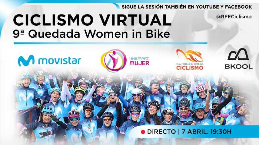 Women in Bike nueva cita virtual en la París-Roubaix