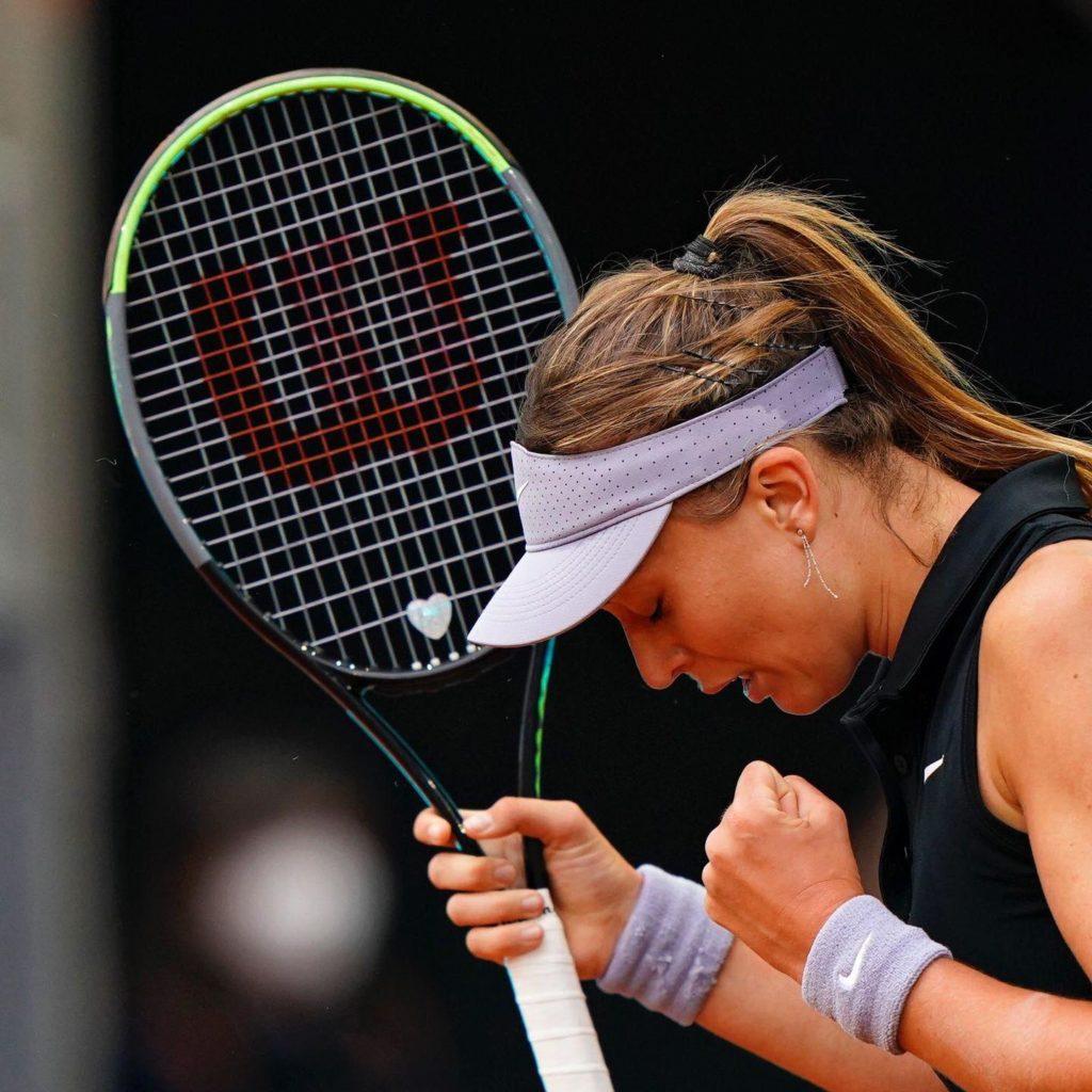 Paula Badosa en octavos de final del Mutua Madrid Open