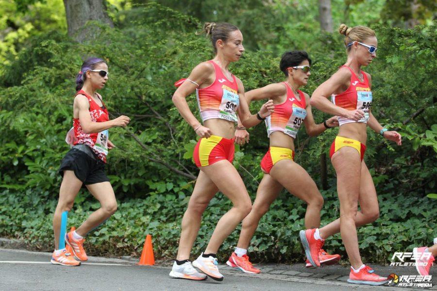 Medalla de oro para España de 20 km marcha en el Campeonato de Europa