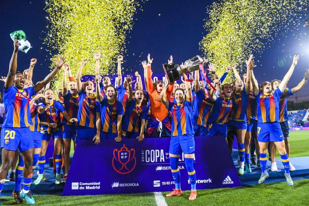 Barcelona Copa Reina triplete