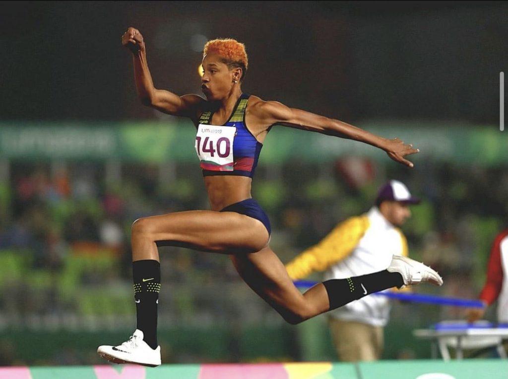 Yulimar Rojas en el mundial de Doha 2019