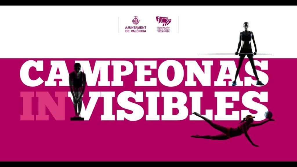 """Cartel cortometraje """"Campeonas Invisibles"""""""
