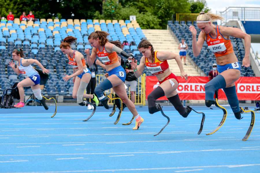 Campeonato Europeo Atletismo Paralímpico velocidad