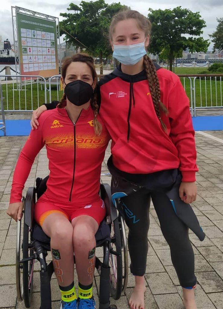 Andrea Miguélez paratriatletas españolas Juegos Paralímpicoss
