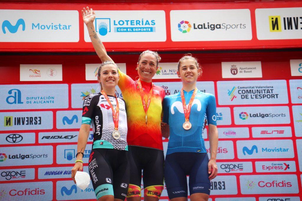 Mavi García y Ane Santesteban Oro y plata en el Campeonato de España