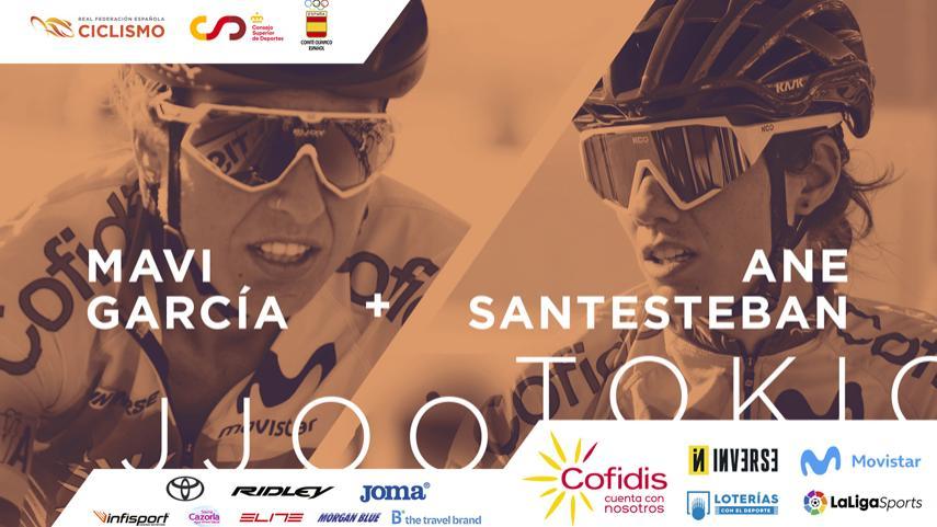 Mavi García y Ane Santesteban representarán a España en las pruebas de carretera de los JJOO