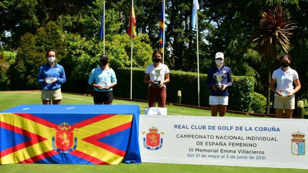 Entrega de premios del Campeonato de España Absoluto