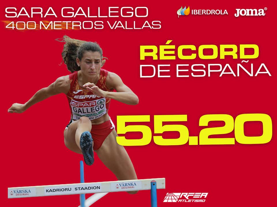 Tallínn con la plata de Sara Gallego
