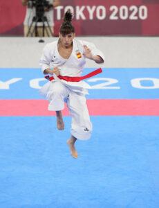 Sandra Sanchez Oro Olimpico salto