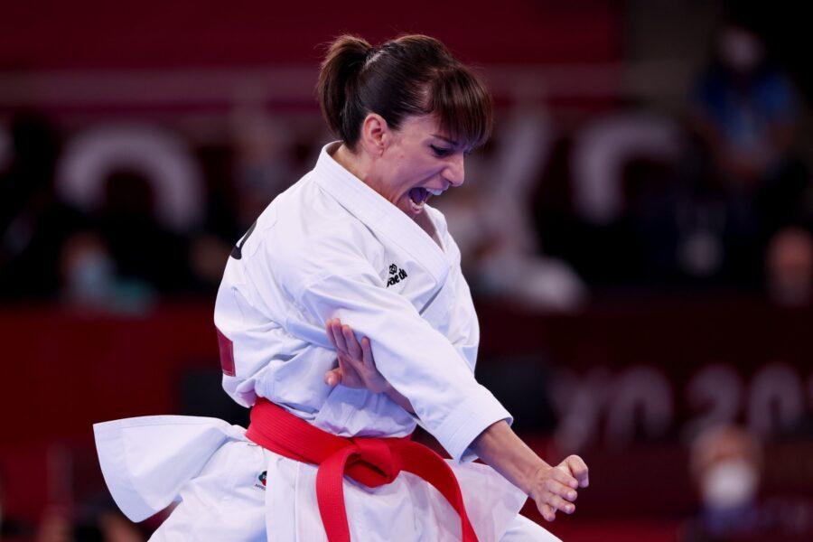 Sandra Sánchez medalla debut