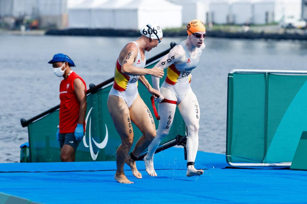 Susana Rodríguez y su guía Sara Loher medalla de oro en Tokio 2020
