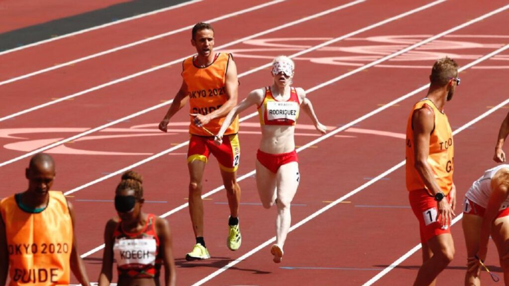 Susana Rodríguez, triatleta paralímpica hace historia