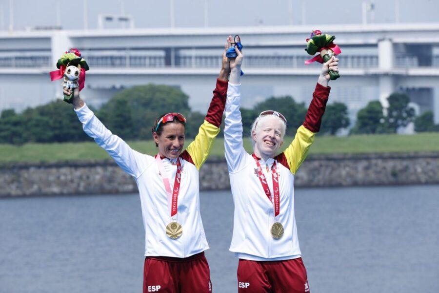 Susana Rodríguez y Sara Loehr medalla de oro