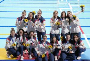Selección española de waterpolo femenino plata en Tokio 2020